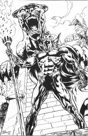black panther superhero coloring pages - photo#22