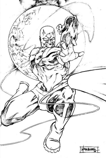 Free coloring pages of thing and daredevil for Daredevil coloring pages
