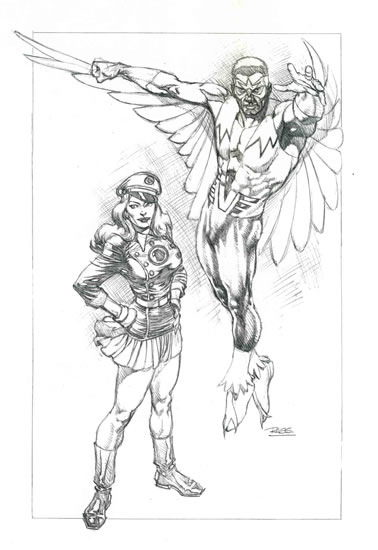 marvel falcon coloring pages - photo#37